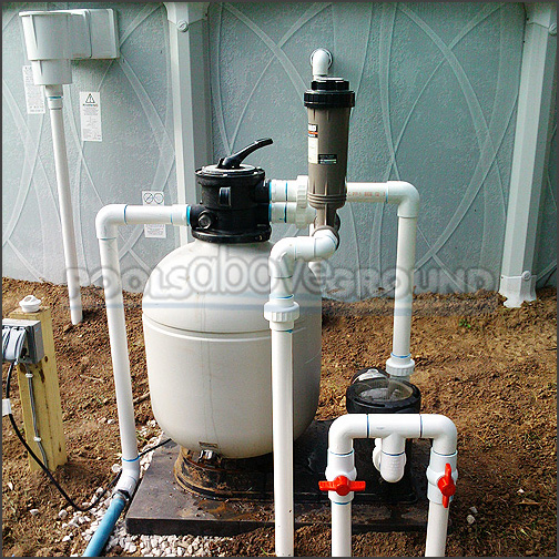 Above Ground Pool Plumbing Ocala FL