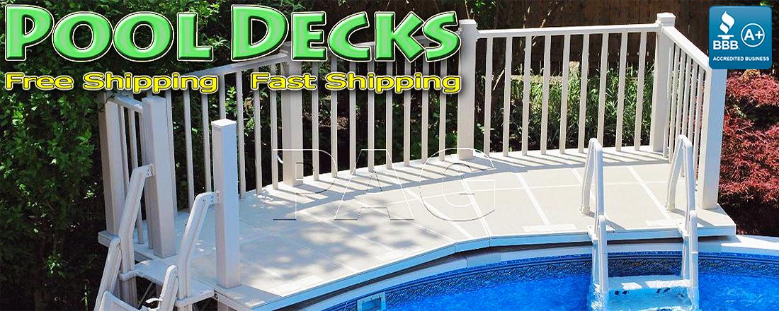 Above Ground Pool Decks For Ocala FL